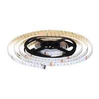 CLAITE 2M 144 LED Waterproof LED Strip Light SMD5050 2835 RGB CCT LED Strip Light Kit + WIFI Controller Work With Alexa EU Plug