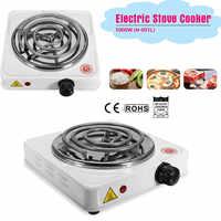 110-240 V 1000 W fer brûleur électrique cuisinière plaque chauffante Portable cuisine cuisinière café chauffe-lait soupe Durable réglable rapide