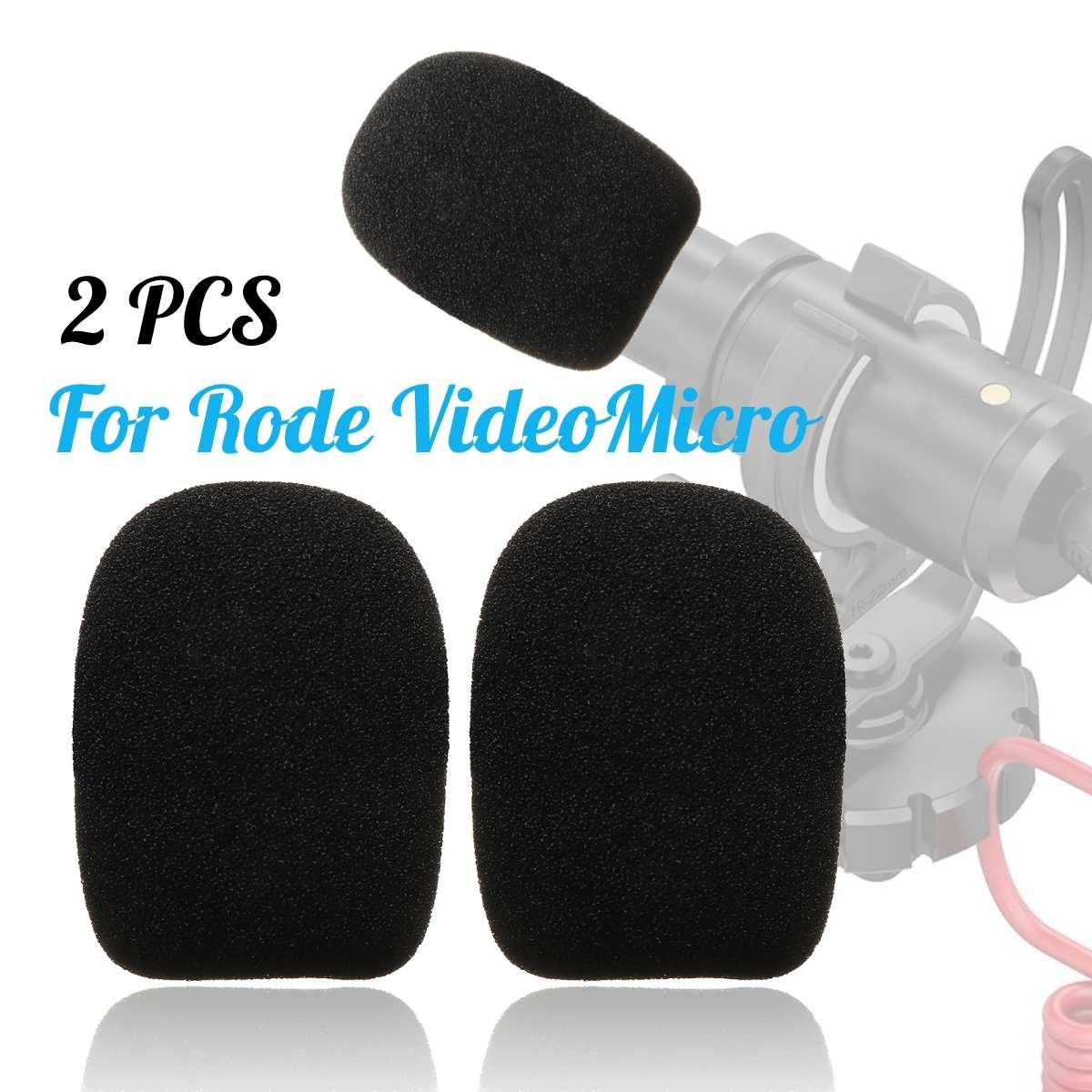 1 Paar Mikrofon Windschutzscheibe Schwamm Schaum Abdeckung Für Ritt Videomicro Audio Hohe QualitäT Und Geringer Aufwand