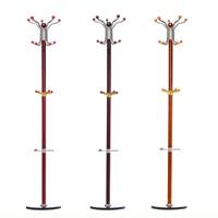 1750mm 15 Hook Rotating Clothes Hat Coat Umbrella Stand Rack Garment Hanger Stainless Steel Floor Home Bag Rack Single Pole