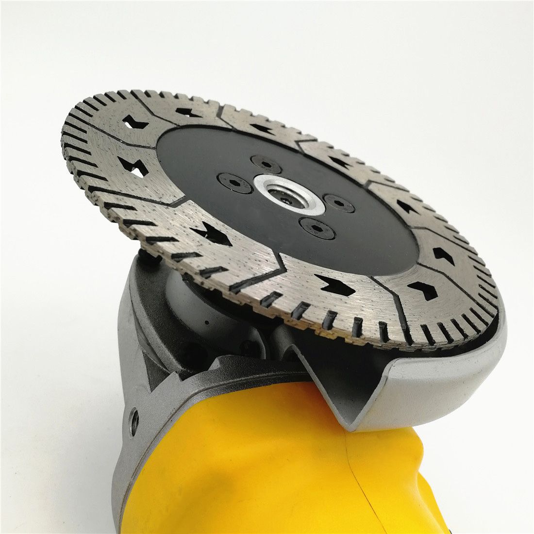 125 X 2.8mm M14 Double-Sided Diamond Saw Blade Grinding Slice Sharp Type With Flange Wet / Dry Cutting Aggressive Disc Saw Blade