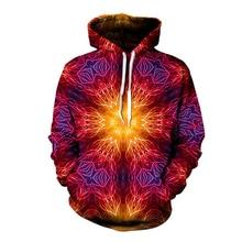 Hipster 3D Print Mandala Chakra Meditation Hoodies Men/women Fashion Streetwear Tops Trippy Jackets Boys Modis Clothes Oversized