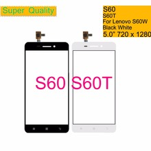 10Pcs/lot For Lenovo S60 S60A S60T S60W S60-T S60-A Touch Screen Digitizer Touch Panel Sensor Front Outer Glass Lens Touchscreen original black white touch screen touchscreen digitizer lcd display for lenovo s60 s60 t s60 w free shipping with tracking no