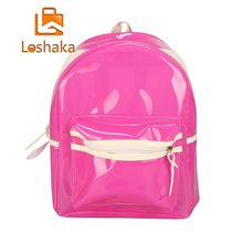 0e397b66cac5 Loshaka Women Backpacks Rucksack Glitter Jelly Female Bag Lantern LED Light  Transparent Backpack Electronic Bag mochila · 3 Colors Available