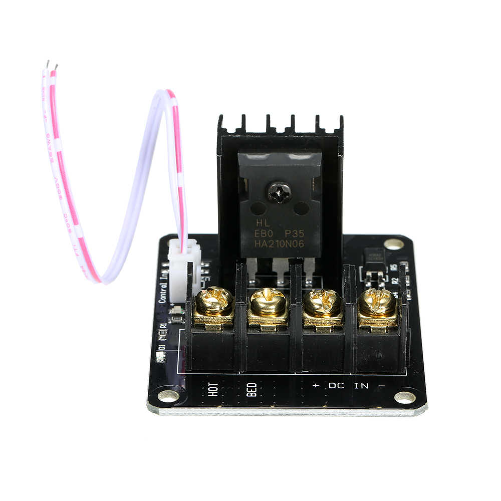 3D Printer Papan Utama Pemanasan Tempat Tidur Ekstensi Power Modul Papan Kontrol Mainboard untuk 3D Desktop Printer MOS