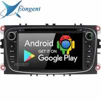 Android 9.0 voiture 2 Din lecteur DVD GPS RDS Radio pour Ford Mondeo Focus C-MAX Galaxy Tourneo Transit s-max Kuga multimidia 4 Gb + 64 Gb