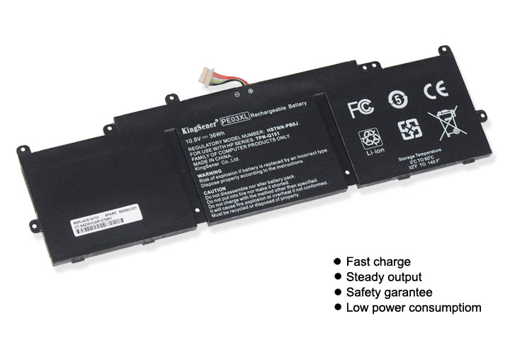Image 2 - KingSener PE03XL Laptop Battery for HP Chromebook 210 G1 G4 HSTNN LB6M PE03XL 767068 005 766801 421 TPN Q151 10.8V 36WH-in Laptop Batteries from Computer & Office on AliExpress