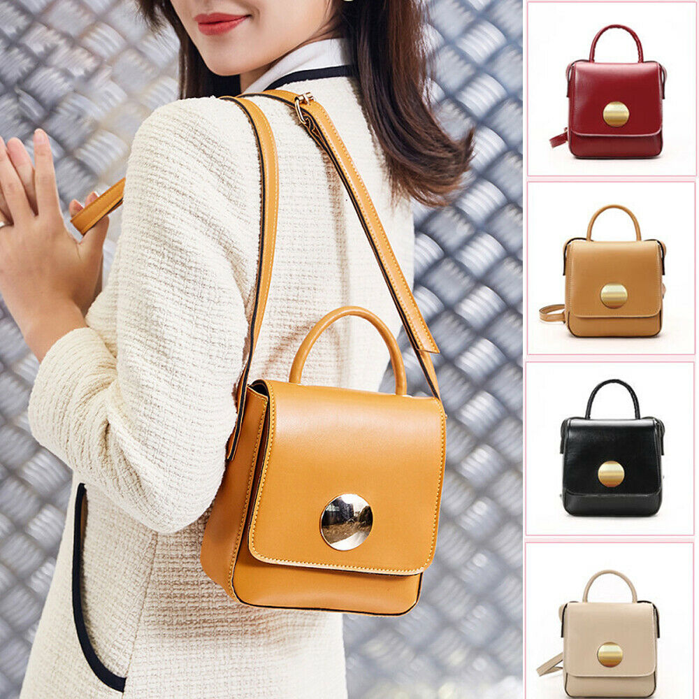 Women Elegant Shoulder Bag PU Leather Envelope Crossbody Messenger Handbag Purse