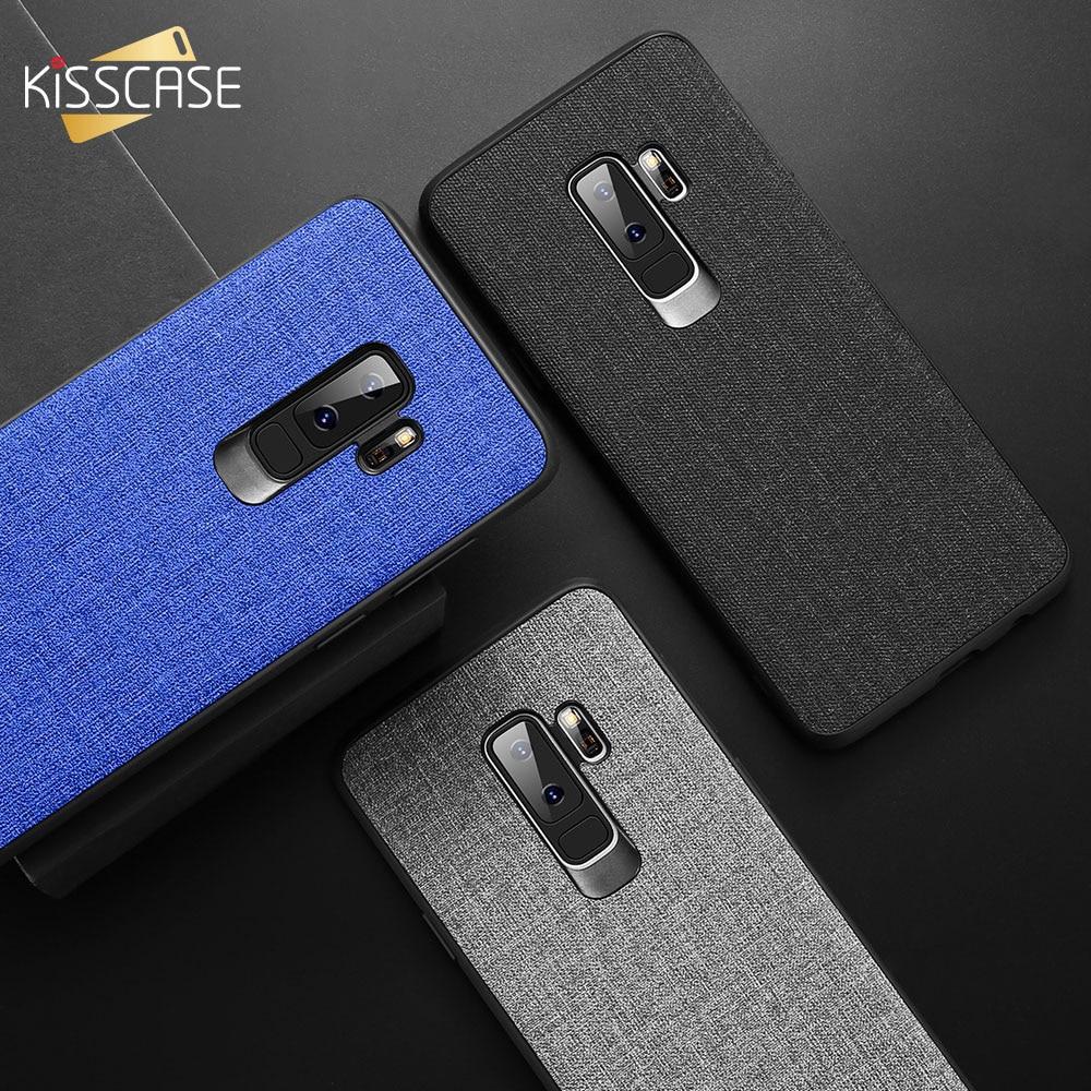 For Xiaomi Pocophone F1 Case Cover KISSCASE Retro Cloth Back for Redmi Note 5 6 pro 6A MI A2 Lite 8 A1 Fundas