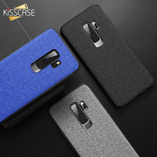 For Xiaomi Pocophone F1 Case Cover KISSCASE Retro Cloth Back for Redmi Note 5 6 pro 6A MI A2 Lite 8 A1 Fundas