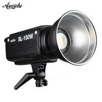 Godox SL 150W 5600 К студийная светодиодная подсветка для видеосъемки заполняющий свет светодио дный светодиодный свет Bowens крепление белый свет ве