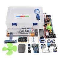 Rowsfire 1 Set Microbit Graphical Programming Starter Sensor Kit For Chidren Adilt Creative Gifts