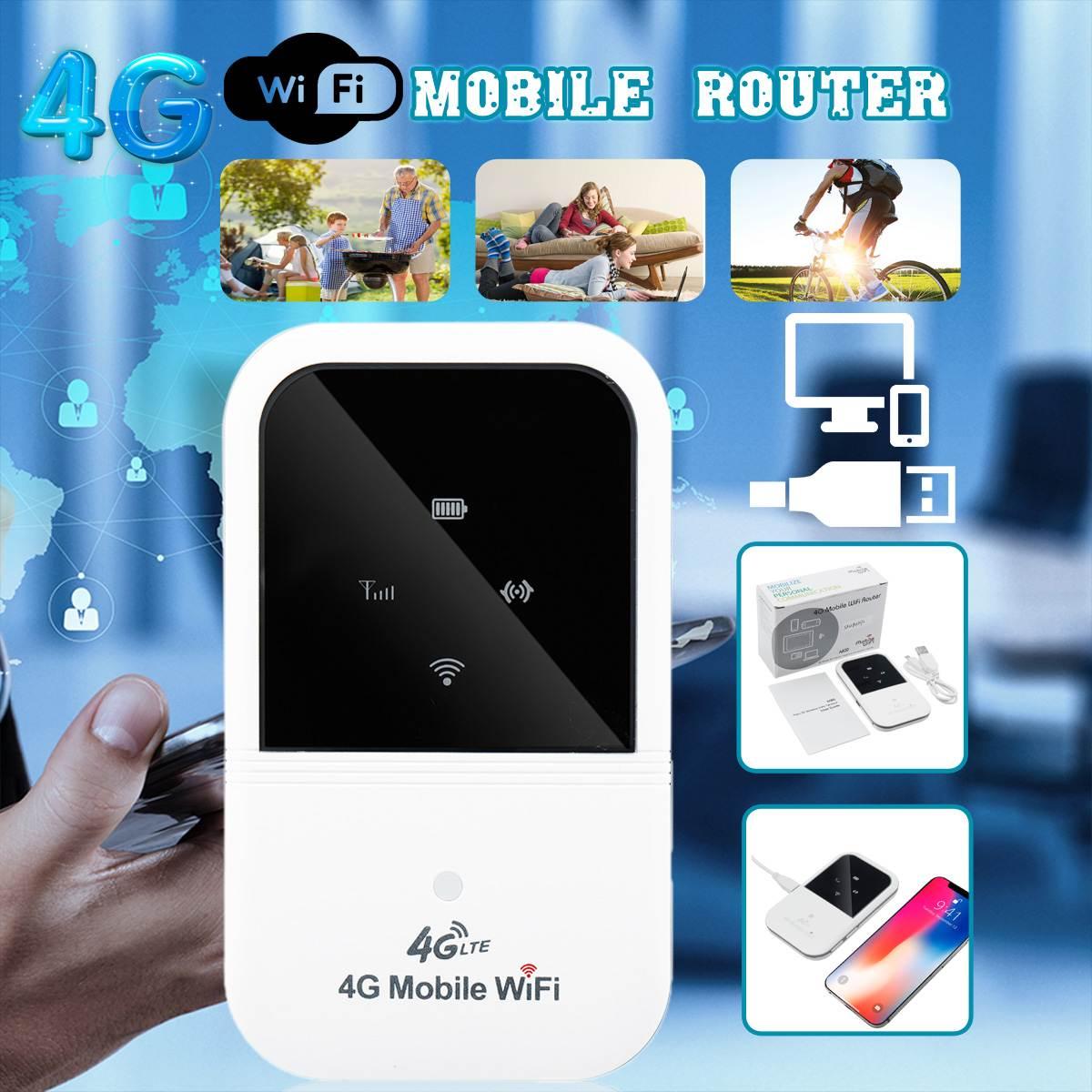 LEORY A800 4G Wifi Router Mini Router 3G 4G Lte Wireless Portable  Wifi Mobile Hotspot Car Wi-fi Router