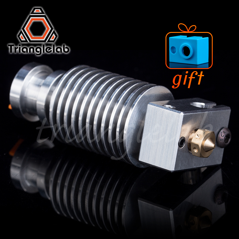 Trianglelab Highall-metal v6 hotend J-head Hotend HeatSink heater block heat break V6 NOZZLE for E3D HOTEND for PT100
