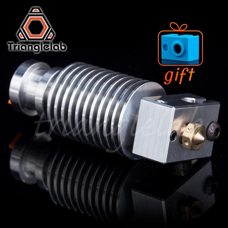 Trianglelab Highall-metal V6 Hotend  J-head Hotend  HeatSink Heater Block Heat Break V6 NOZZLE  For E3D HOTEND For PT100