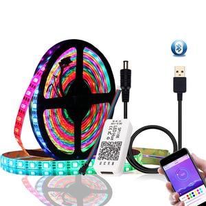 CLAITE RGB LED Strip Light DC5