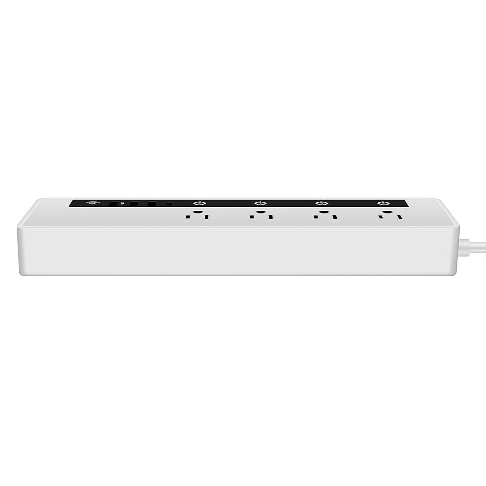 Barrette d'alimentation intelligente de stockage WIFI L1 avec 3 Ports USB 4 prises secteur 1 Port type-c - 4