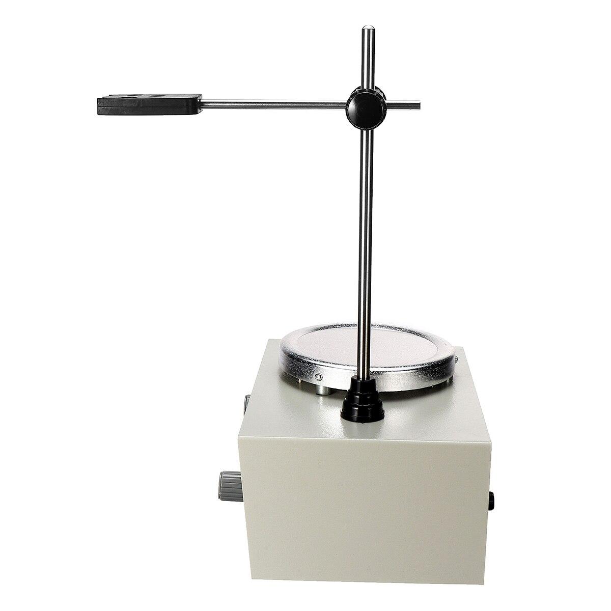 Mélangeur de double contrôle de chauffage de laboratoire US/AU/EU 79-1 110/220 V 250 W agitateur magnétique de plaque chaude 1000 ml aucune Protection de fusibles de bruit/Vibration - 5