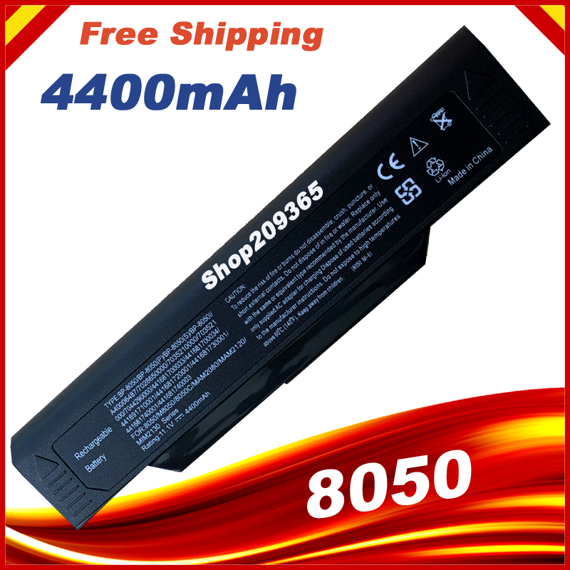 Battery For Packard Bell B3605 B3340 B3620 B3350 B3800 BP-8050i BP-8050(S) Black