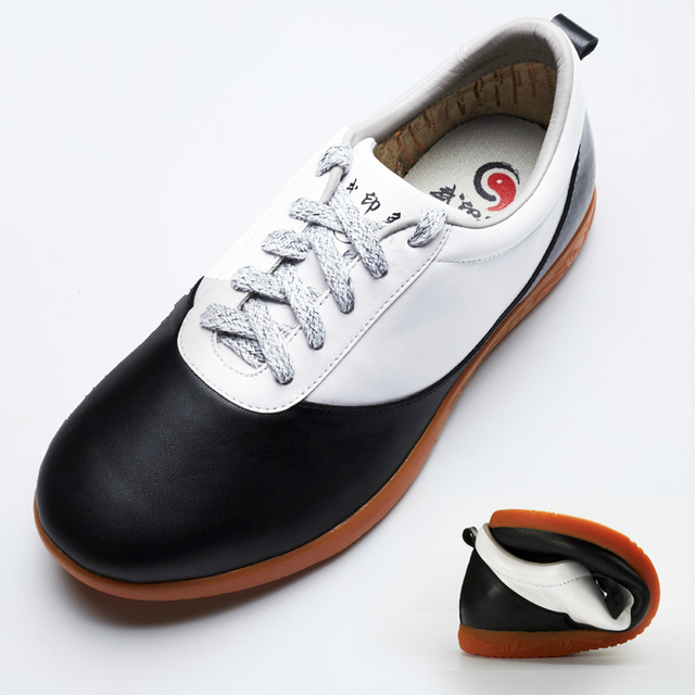 High Quality Cowhide Tai Ji Shoes
