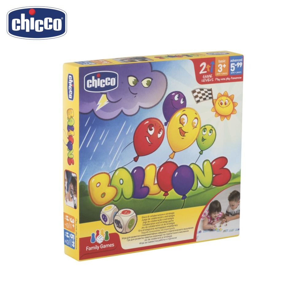 лучшая цена Party Games Chicco Toy Balloons 100090 toy board game fine motor skills for company educational toys for children play girl boy