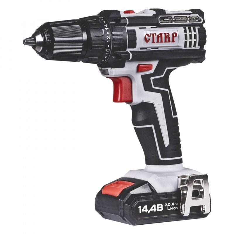 Cordless screwdriver drill Stavr DA-14,4L
