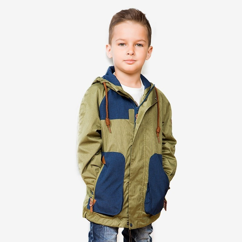 Jackets & Coats Sweet Berry Textile jacket for boys (Park) children clothing kid clothes boys solid jacket