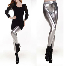 a735475bc6dd68 Women Sexy Glossy Trousers Fashion Lady Punk Hot Wet Look Shiny Slim  Thicken Warm Pants Leggings