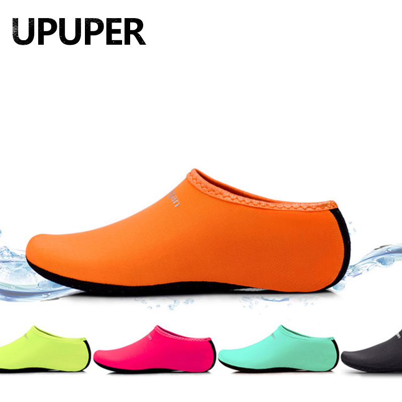 Summer Beach Water Shoes For Swimming Shoes Men Women Non-Slip Slippers For Sea Yoga Fitness Dance Surfing Diving Socks Shoes