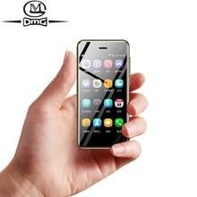 U2 3.15 inç mini dokunmatik cep telefonu dört çekirdekli 5.0mp piksel 4G akıllı telefon android 8.1 kilidi cep telefonları dört çekirdek cep telefonu
