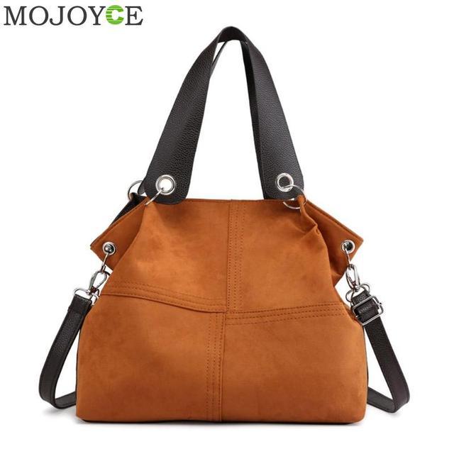 Top-handle Bags mulheres bolsa de ombro fêmea sacola grande mensageiro saco crossbody para as mulheres de couro 2019 bolsa de Veludo macio feminina