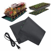 1pc 20x10'' Seedling Heating Mat Waterproof Plant Seed Germination Propagation Clone Starter Pad for Garden Supplies