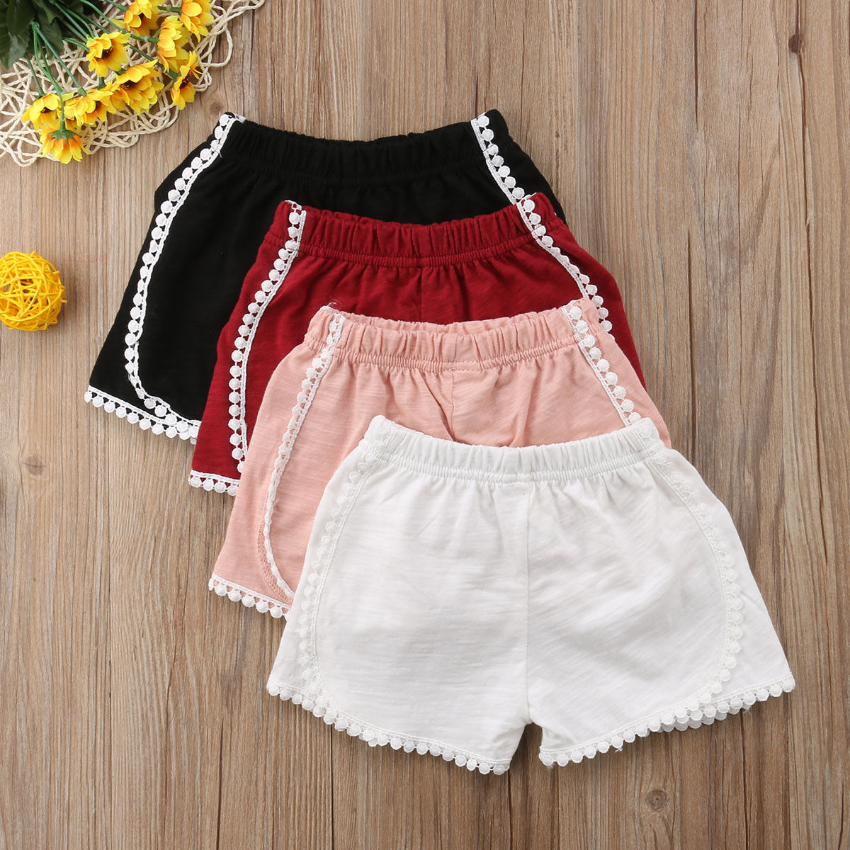 Pudcoco Girl Pants Newborn Baby Girl Kids Harem Pants   Shorts   Bottoms PP Bloomer Panties 18M-4T