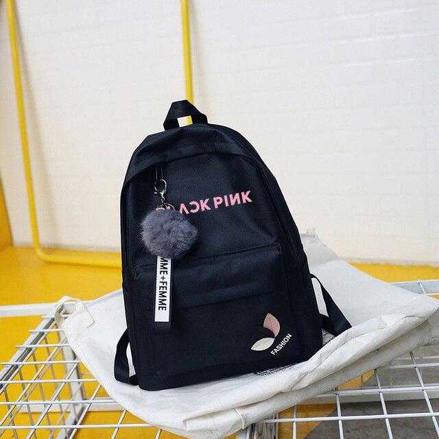 חדש Blackpink פעמיים Exo Got7 תרמילי Monsta X רוצה אחד תועה ילדים Txt נשים תרמיל בית ספר BagPack נער ילדה שק דוס