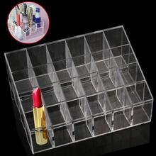 1 Clear Makeup Storage Organizer Plastic Makeup Stand Displa