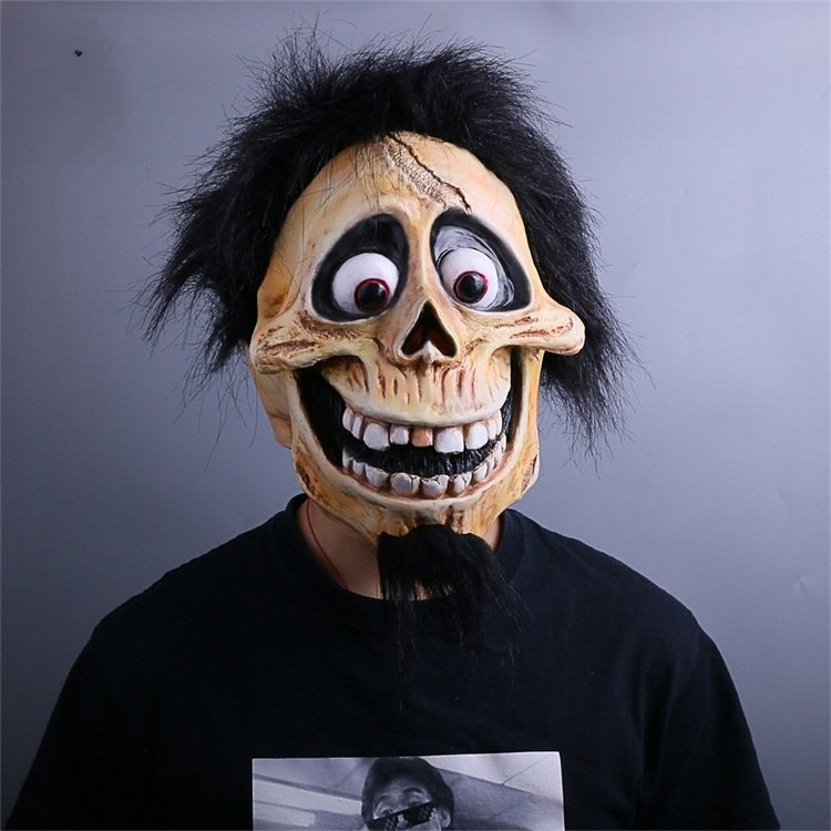 CoCo Hector Mask Cosplay Ektor Halloween Skull Mask Full Head Costume Fancy Dress Props