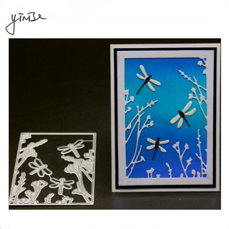 VCD139 Dragonfly Cut SCRAPBOOK Metal Cutting Dies For Scrapbooking Stencils DIY Album Cards Decoration Embossing Folder Die Cuts