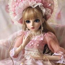 60 см BJD кукла для девочек принцесса макияж игрушки соединены с Полный наряд SD Куклы Дети DIY платье кукла подарок на день Святого Валентина