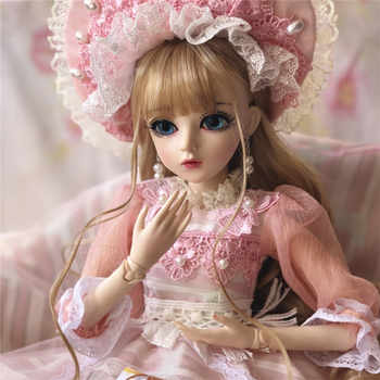 60CM BJD Doll Girls Princess Makeup Toys Jointed With Full Outfit SD Dolls Children DIY Dress Up Doll Valentines Gift - DISCOUNT ITEM  25% OFF All Category