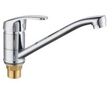 Rotatable Water TAP Bath TAP อ่างล้างหน้าก๊อกน้ำห้องครัวอ่างล้างจานก๊อกน้ำสเปรย์ผสม 2pcs ลวดท่อ
