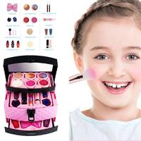 23 Children's Fake Cosmetics Toy Set Girl Cosmetics Toy Play House Princess Dream Game House For Children To Develop Safety