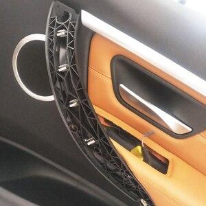 Image 5 - Для BMW 3 серии F30 F31 F32 F80 F82 F83 F33 F34 F35 F36 Автомобильная внутренняя дверная ручка панель Натяжной подлокотник ручка Крышка отделка