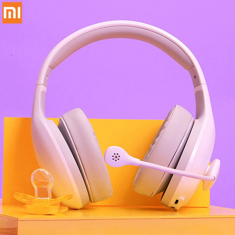 Xiaomi MI Wired/Wireless Bluetooth Headphone Karaoke Version High Sensitivity MIC Game Headset HD Audio 6 Sound Variation Modes