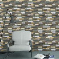 Modern Fashion 3d Brick Pvc Wallpaper Self Adhesive Bedroom Wallpapers Roll Diy Living Room Kitchen Mural Bricks Wall Paperez096
