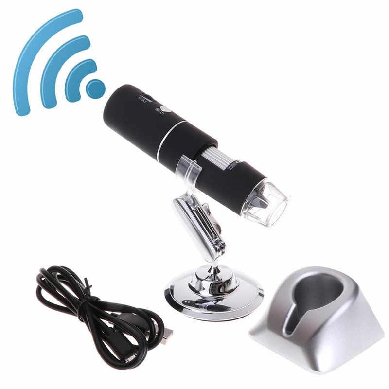 Microscope numérique électronique stéréo HD 2.0MP 1000X3 en 1 WiFi USB Android type-c Microscope numérique 1920*1080 P résolution