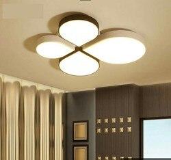 Kreatywny sufit Nordic romantyczna lampka do sypialni w kształcie specjalnym kute oświetlenie do restauracji fajne lampy pokojowe Led do salonu