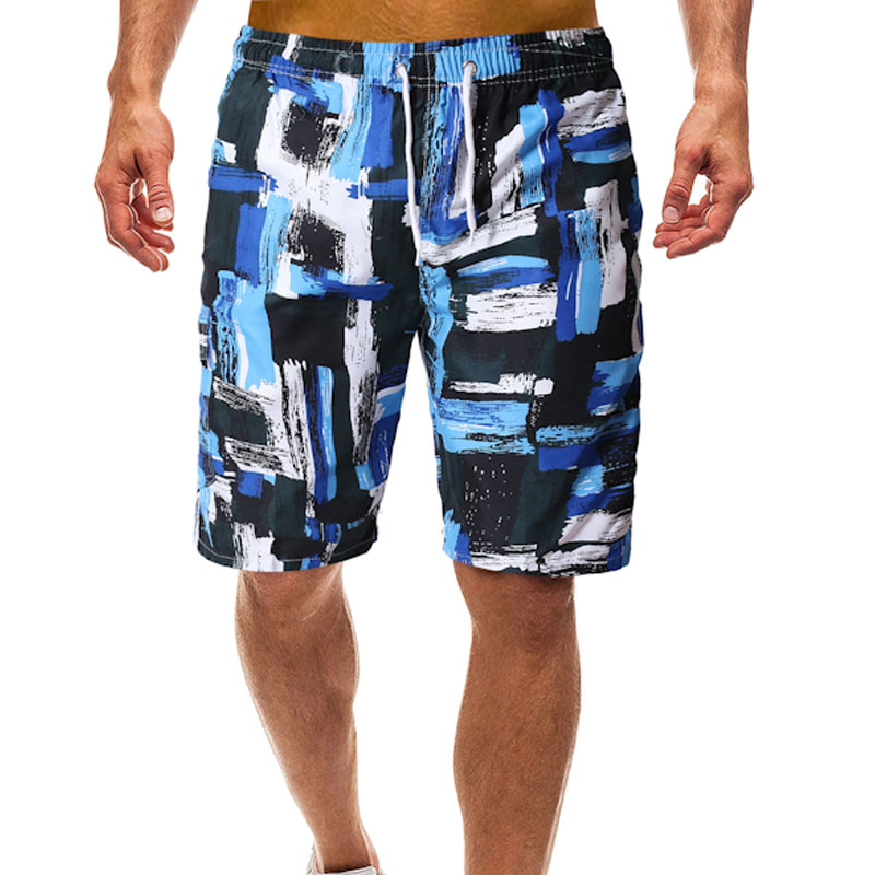 Men Quick Dry Shorts Summer Bermuda Surf Men Swim Trunks Swim Short Beach Wear Mens Board Shorts