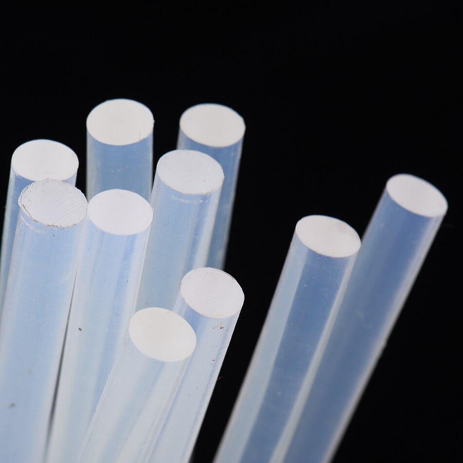 10 pçs/lote 7mm x 190 milímetros Hot Melt Glue Sticks Para Ferramentas Elétrica Glue Gun Artesanato Album Repair 7mm Bastões de Cola Ferramentas de BRICOLAGE