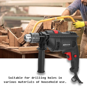Image 1 - Adjustable Speed Electric Drill Impact Drill Electric Hammer Drill High Power 220V Dual use Positive Negative Rotation Tool