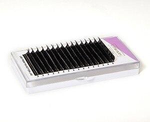Image 2 - 6 qualität wimpern extensions tablett gefälschte nerz einzel wimpern größe der einzelnen wimpern weichen, natürlichen wimpern